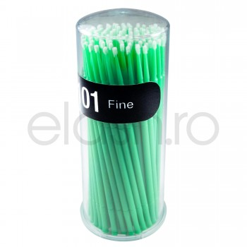 Microaplicatoare Microbrush GEISHA 2.0 mm Extensii Gene Fir cu Fir
