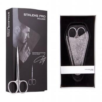 Forfecuta Cuticule Profesionala Curbata STALEKS PRO Exclusive S9-11-23 Magnolia 23 mm